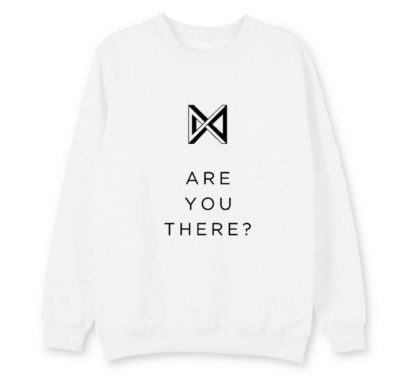 Monsta X Take 2: Are You There Sweater in white