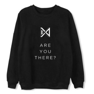 Monsta X Take 2: Are You There Sweater in black