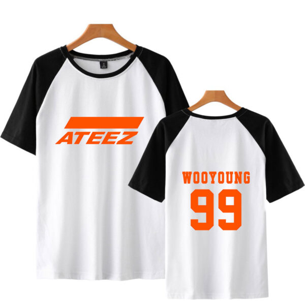 T-shirt Ateez Wooyoung