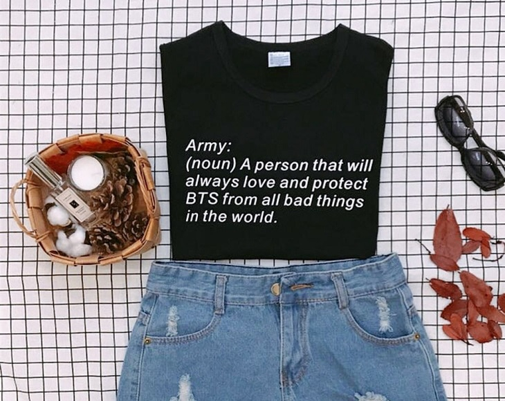 BTS ARMY Definition T-shirt