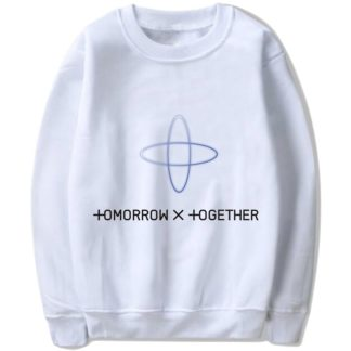TXT Tomorrow X Together sweater in white