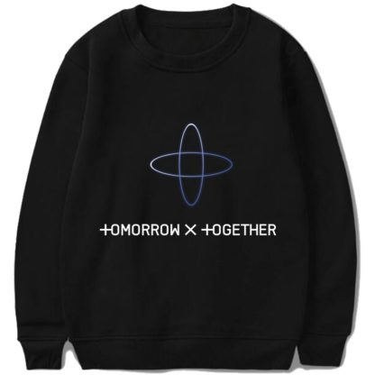 TXT Tomorrow X Together sweater in black