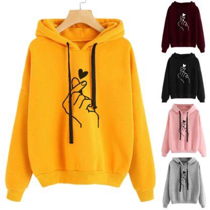 Love Finger hoodies