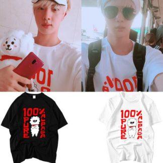 BTS Jin 100% Pure Alpaca t-shirt