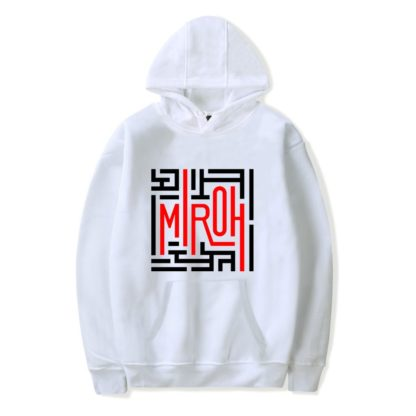 Stray Kids Miroh Hoodie in white