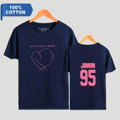 BTS Map of the Soul: PersonaJ-hope t-shirt in blu