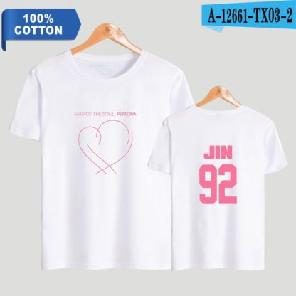 BTS Map of the Soul: Persona Jin t-shirt in white