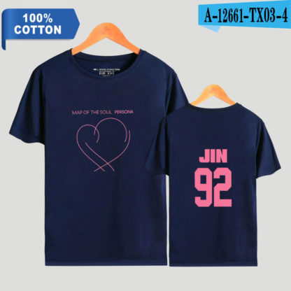 BTS Map of the Soul: Persona Jin t-shirt in blue