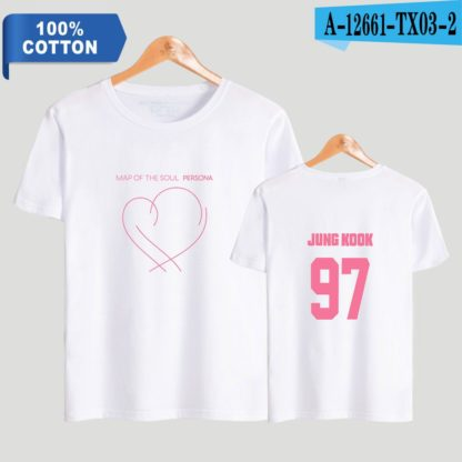 BTS Map of the Soul: Persona Jungkook t-shirt in white