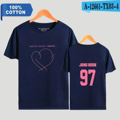 BTS Map of the Soul: Persona Jungkook t-shirt in blue