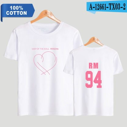 BTS Map of the Soul: Persona RM t-shirt in white