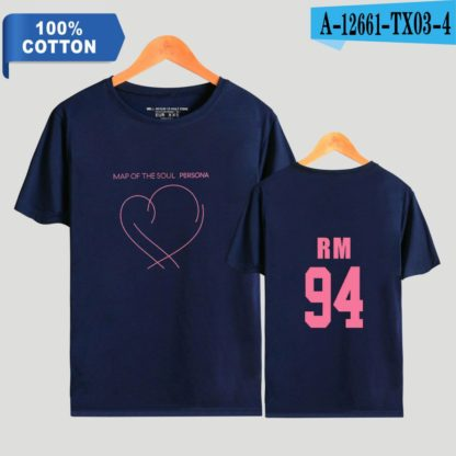 BTS Map of the Soul: Persona RM t-shirt in blue