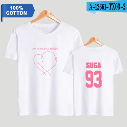 BTS Map of the Soul: Persona Suga t-shirt in white