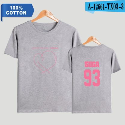 BTS Map of the Soul: Persona Suga t-shirt in grey