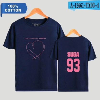BTS Map of the Soul: Persona Suga t-shirt in blue