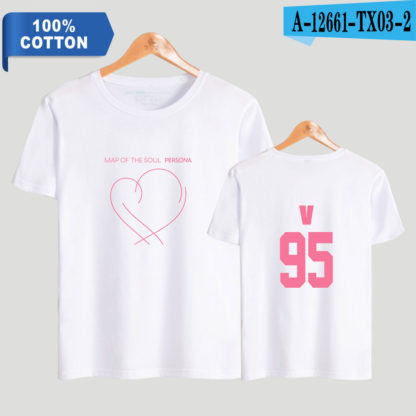 BTS Map of the Soul: Persona V t-shirt in white
