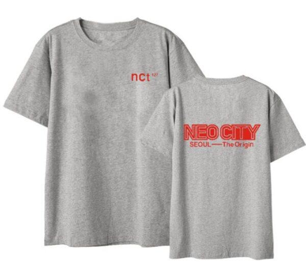 NCT 127 neo city seoul t-shirt in grau
