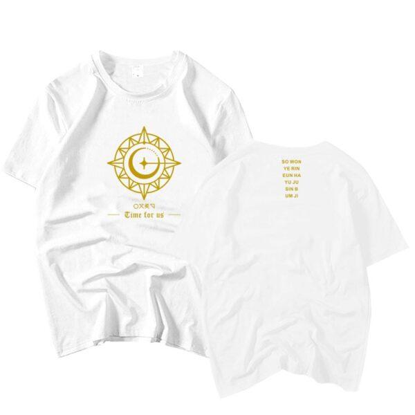 Camiseta GFriend Time for Us en blanco