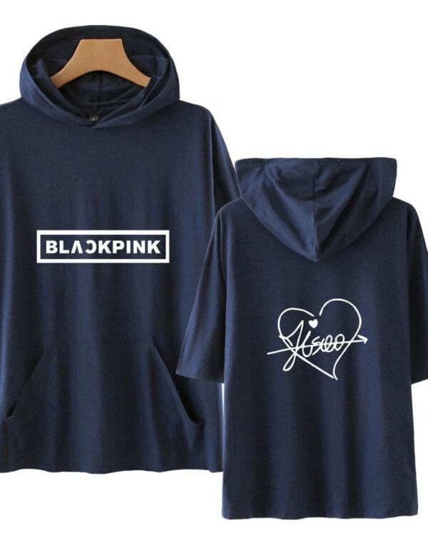 Blackpink signature hoodie in blue