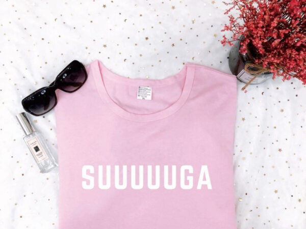 Suuuuuga t-shirt in pink