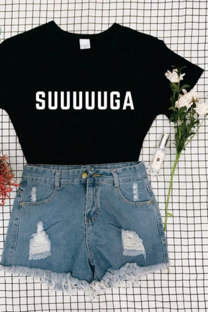 Suuuuuga t-shirt in black