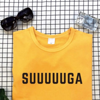Suuuuuga t-shirt in yellow