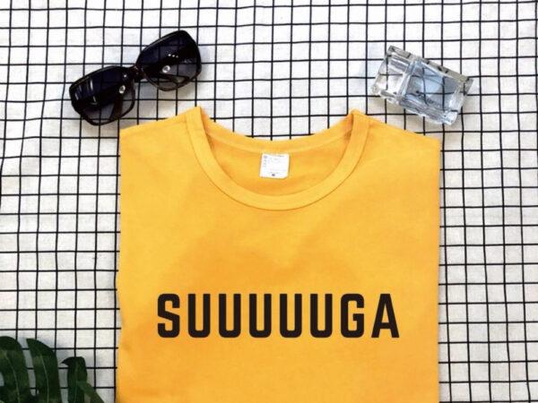 Suuuuuga t-shirt in yellow