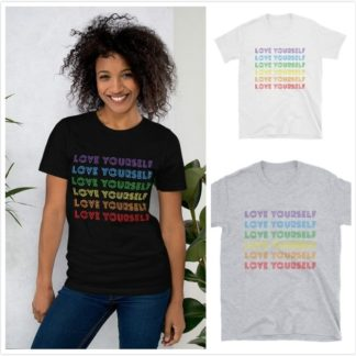 Love Yourself Rainbow shirt