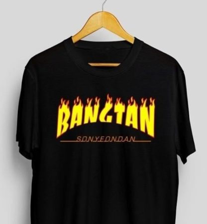Bangtan Fire T-shirt Very Kpop Shop