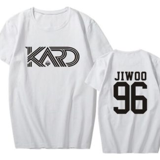 KARD Jiwoo shirt in white