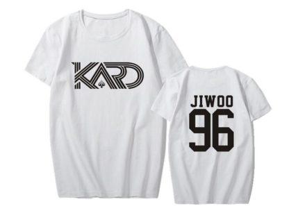 KARD Jiwoo shirt in white