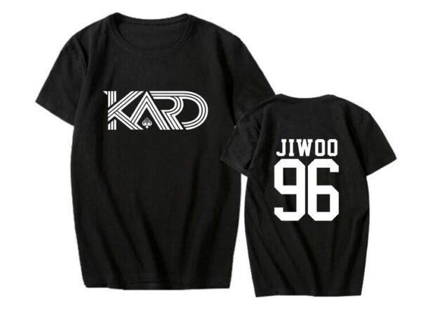 KARD Jiwoo shirt in black