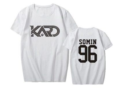 KARD Somin shirt in white