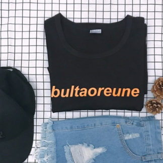 BTS Bultaoreune shirt in black