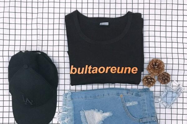 Chemise BTS Bultaoreune en noir