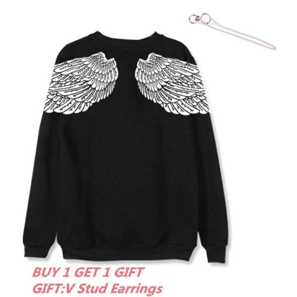 V's Angel Wings Pullover