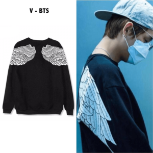 V's Angel Wings Sweater