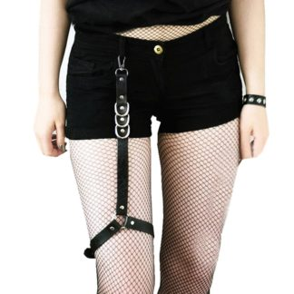 Thigh Leather Harness