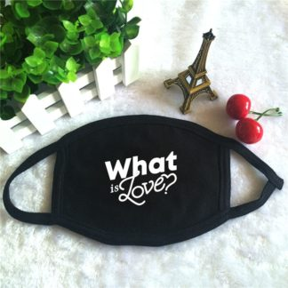 TWICE What is Love Face Mask K-pop Style