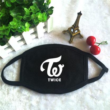 TWICE Cotton Face Mask K-pop Style