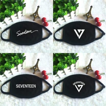 Seventeen Korean K-pop Face Masks