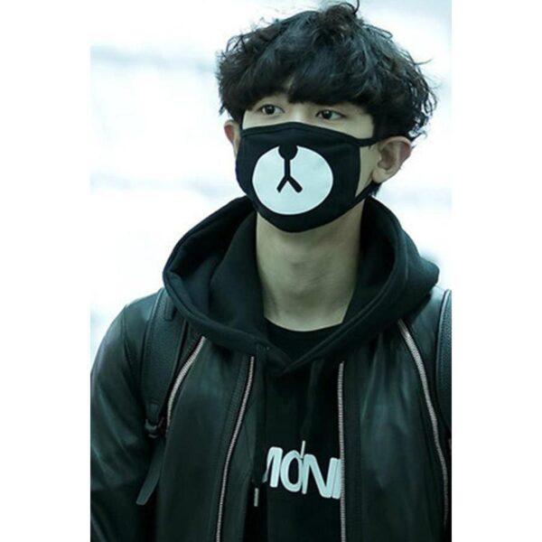 Chanyeol EXO Bear Face Mask