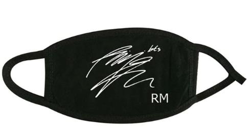 BTS face mask RM