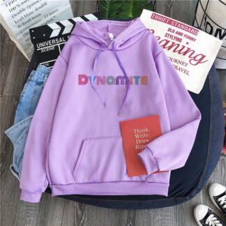 BTS dynamite purple hoodie
