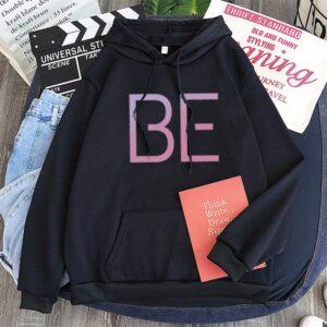 bts be hoodie